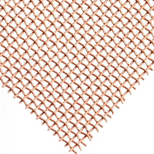 Copper Woven Wire Mesh Woven Wire Mesh Anping County